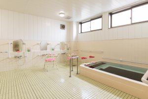 デイサービスセンター奄美 浴室