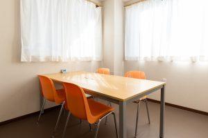 デイケアサービスセンター柿の花 面談室